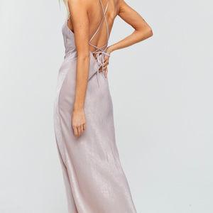 💰⬇️ CRESCENT CLARA SATIN NIGHTGOWN DRESS
